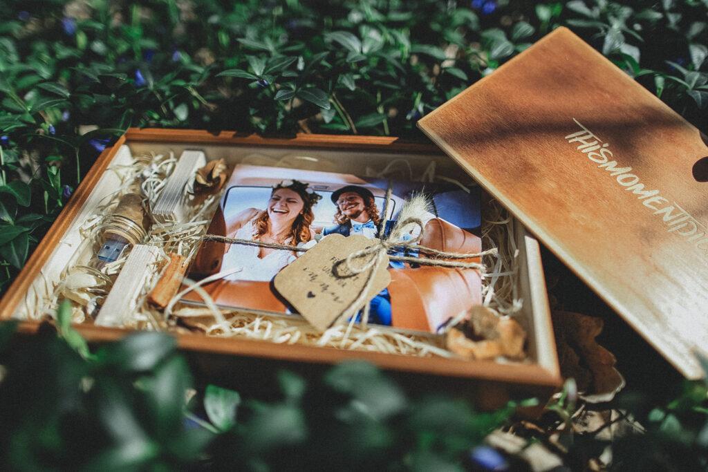 Holzbox für eure Hochzeit