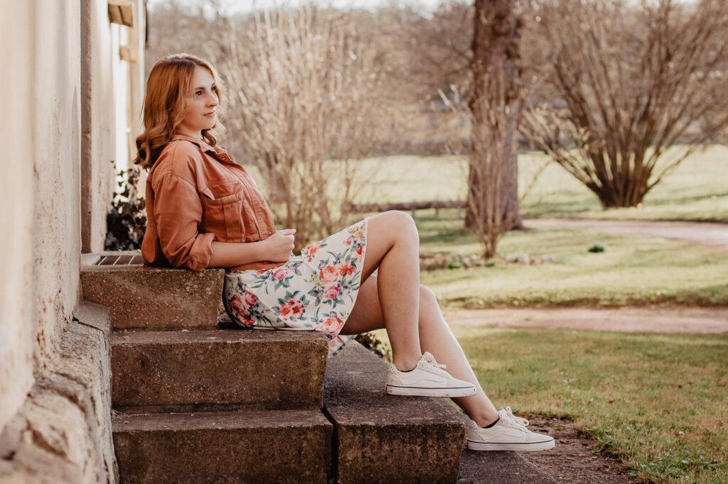 Fotoshooting mit Franzi Wilhelmstal Shooting Portraitshooting